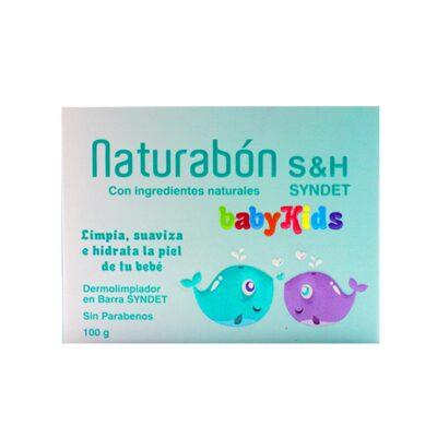 NATURABON S&HSYNDET BABY KIDS JABON BARRA 100 GR CIMA JPG