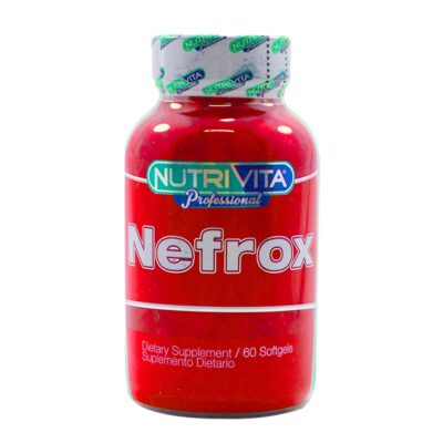 NEFROX 60 CÁPSULAS NUTRIVITA JPG