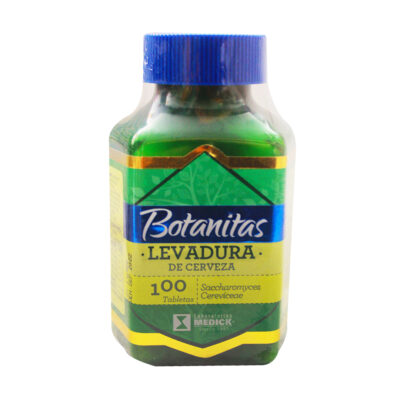 BOTANITAS LEVADURA DE CERVEZA 100 TABLETAS
