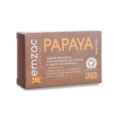 Jabón Orgánico de Papaya