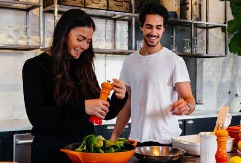 La alimentación es parte importante de mantenerse saludable