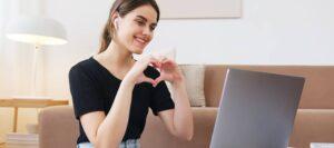 El amor en linea en la salud emocional
